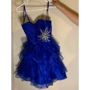 Blue Prom or Quinceañera Dress